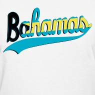 Design ~ bahamas Women's T-Shirts
