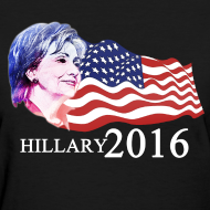 Design ~ hillary 2016 Women's T-Shirts
