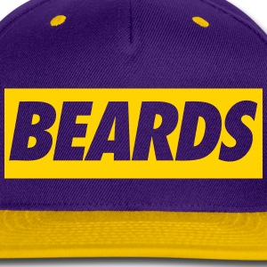 beards Caps - Snap-back Baseball Cap