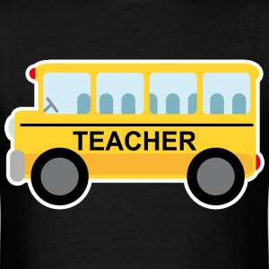 Teacher School Bus Cute T-Shirts - Men's T-Shirt