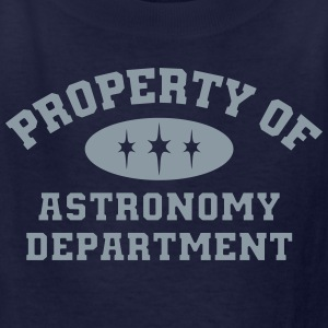 Property Of Astronomy Department - Kids' T-Shirt
