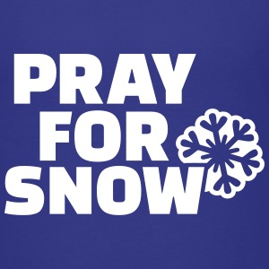 Pray for snow Kids' Shirts - Kids' Premium T-Shirt