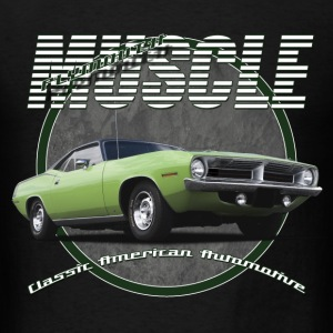 Men's T-Shirt | Plymouth Muscle | Classic American - Men's T-Shirt