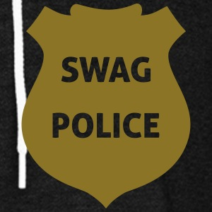 Swag Police Zip Hoodies & Jackets - Unisex Fleece Zip Hoodie by American Apparel