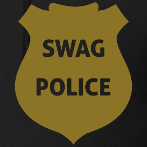 Swag Police Zip Hoodies & Jackets - Men's Zip Hoodie