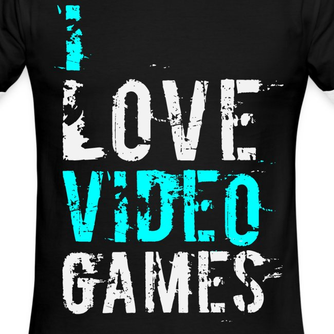 I Love Games T-Shirt