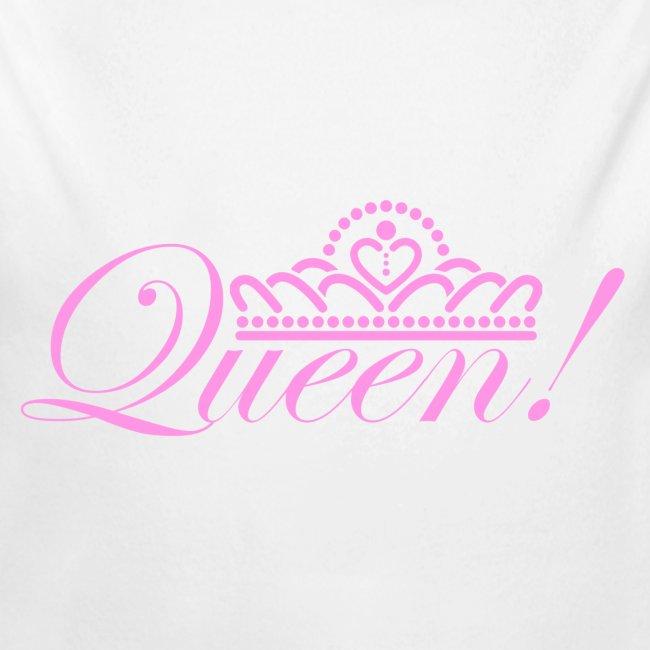 Queen Baby Long Sleeve One Piece