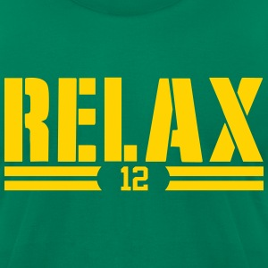 AARON-SAYS-RELAX T-Shirts - Men's T-Shirt by American Apparel