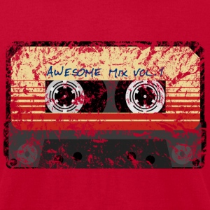 Awesome Mix Tape Vol.1 T-Shirts - Men's T-Shirt by American Apparel