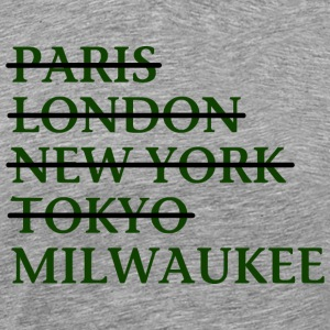 Milwaukee Wisconsin Funny Classic Apparel T-Shirts T-Shirts - Men's Premium T-Shirt