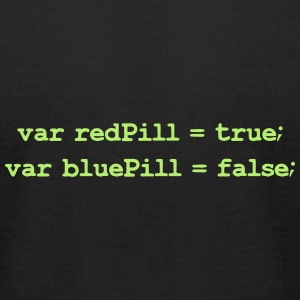 The Matrix: Red Pill Blue Pill T-Shirts - Men's T-Shirt by American Apparel