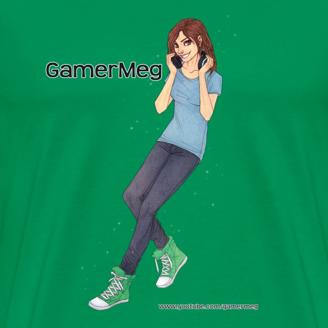 GamerMeg Icon Official Men's T-Shirt