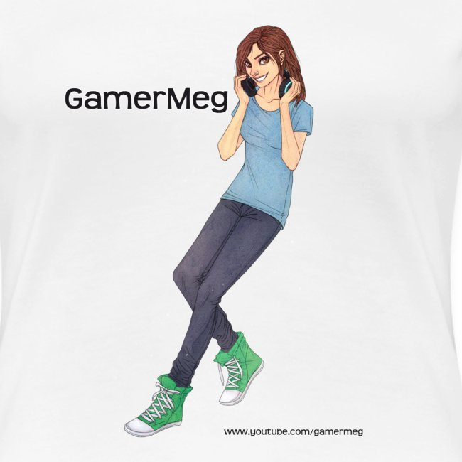 GamerMeg Icon Official Women's T-Shirt