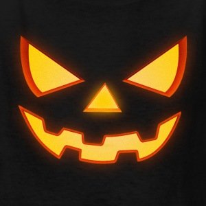 Scary Halloween Horror Pumpkin Face Kids' Shirts - Kids' T-Shirt