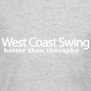 West Coast Swing Better Than Therapy - Women's Long Sleeve Jersey T-Shirt