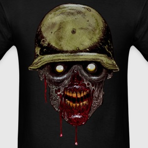 Zombie Soldier T-Shirts - Men's T-Shirt