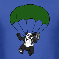 Design ~ Rock and Roll Panda Boombox T