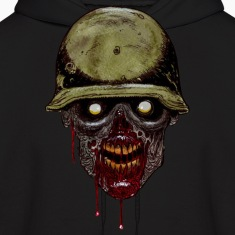 Zombie Soldier Hoodies