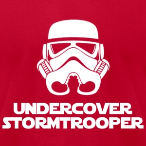 undercover stormtrooper T-Shirts - Men's T-Shirt by American Apparel