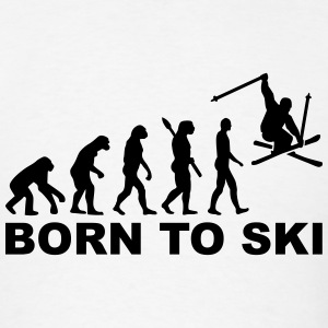 Born to Ski T-Shirts - Men's T-Shirt