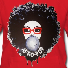 Afro pop_Global Couture Hoodies