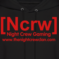 Design ~ All Red Ncrw Clan Tag Hoodie
