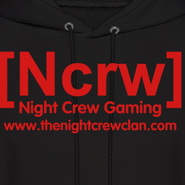 All Red Ncrw Clan Tag Hoodie