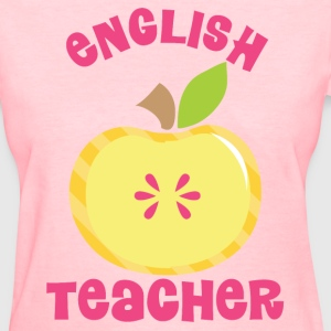 English Teacher Cute Pink Women's T-Shirts - Women's T-Shirt