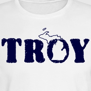 Troy Michigan T-Shirts Shirts Tees TShirts Hoodies Long Sleeve Shirts - Men's Long Sleeve T-Shirt