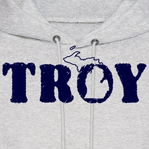 Troy Michigan T-Shirts Shirts Tees TShirts Hoodies Hoodies - Men's Hoodie