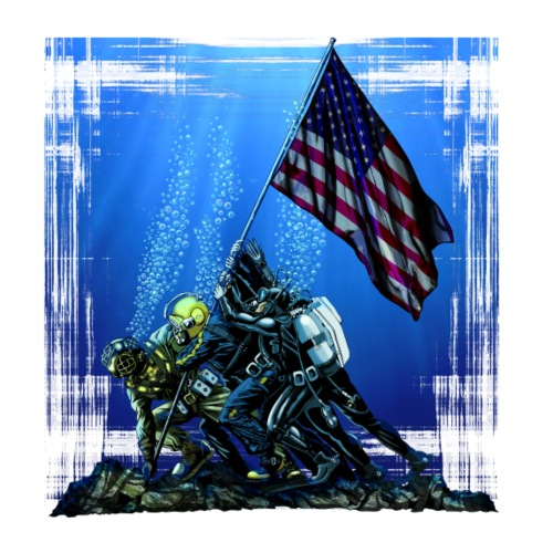 Underwater Flag Raising