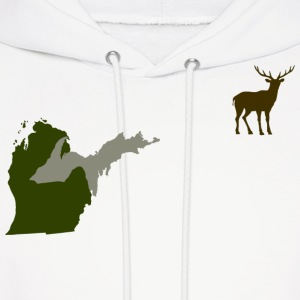 Funny Michigan Yooper Hunting Parody Deer T-Shirt  Hoodies - Men's Hoodie