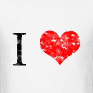 I love T-Shirts - Men's T-Shirt