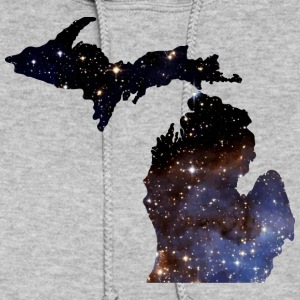 Michigan Star Shirt Michigan Outline Star Art Tees Hoodies - Women's Hoodie