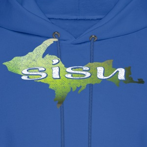 U.P. SISU Upper Peninsula Michigan Finland Finnish Hoodies - Men's Hoodie