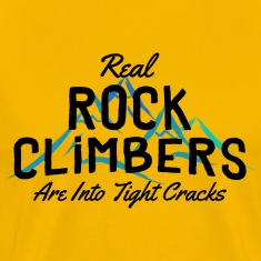 Rock Climbers Are Into Tight Cracks