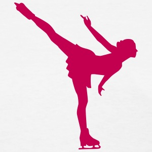 Figure skating Women's T-Shirts - Women's T-Shirt