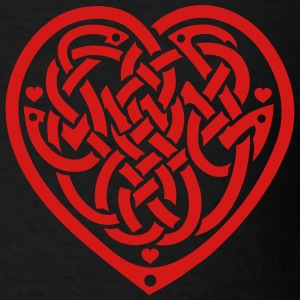 celtic knot heart T-Shirts - Men's T-Shirt