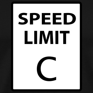 Speed Limit C T-Shirts - Men's Premium T-Shirt