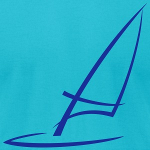 windsurfing T-Shirts - Men's T-Shirt by American Apparel