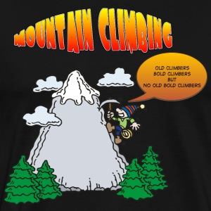 Funny Rock Climbing  - Men's Premium T-Shirt
