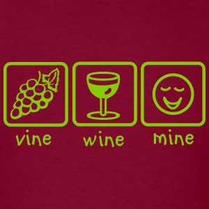 Vine Wine Mine T-Shirts - Men's T-Shirt