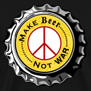 Make Beer Not War T-Shirt - Men's Premium T-Shirt
