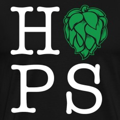 Hops homebrew t-shirt