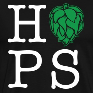 Hops homebrew t-shirt - Men's Premium T-Shirt