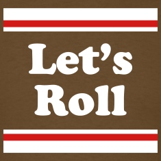 Let's Roll - Chocolate Tee