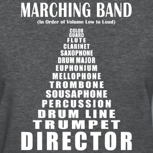 Marching Band Volume (Women's) - Women's T-Shirt