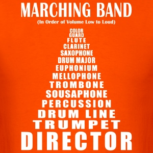 Marching Band Volume (Men's) - Men's T-Shirt