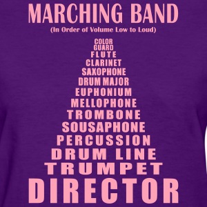 MaMarching Band Volume (Women's) - Women's T-Shirt