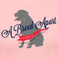 Design ~ A Breed Apart Clothing Co. Logo women's long sleeve T shirt